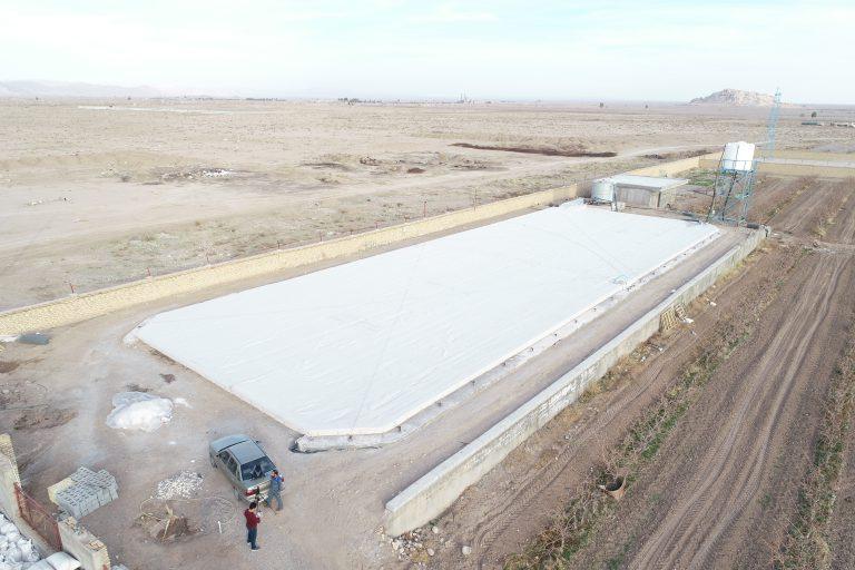 بررسی مزیت های پوشش سقف استخر کشاورزی